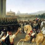 I «Commissarj Francesi» a Roma