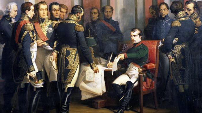 abdicazione-di-napoleone, Da generale a imperatore