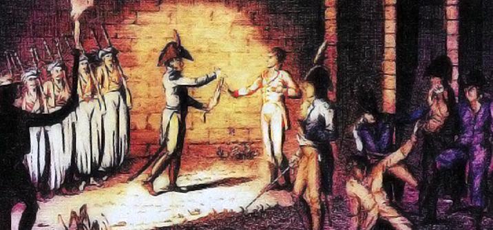 Esecuzione del duca D'Enghien, cospirazione