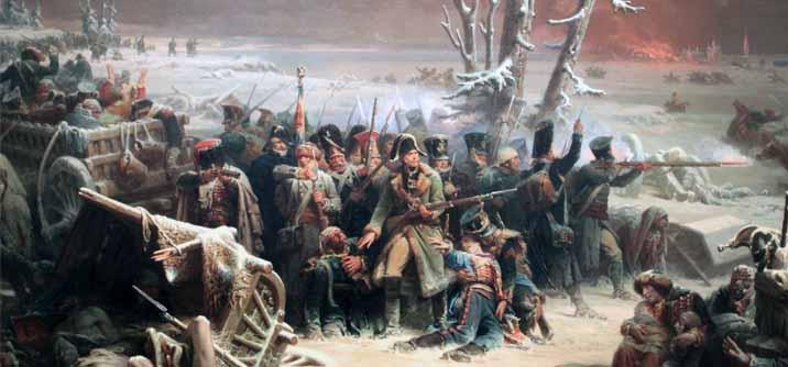 Il maresciallo Ney guida la retroguardia nella ritirata da Mosca, l' inizio della fine