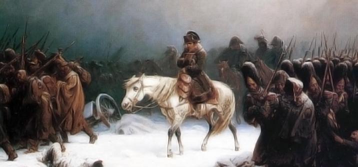 Napoleone si ritira da mosca, L' inizio della fine