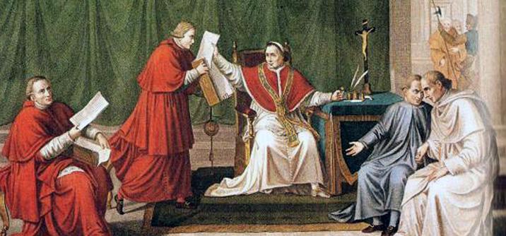 Pio VII firma il concordato