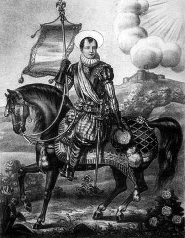 San Napoleone, Napoleone imperatore e … santo