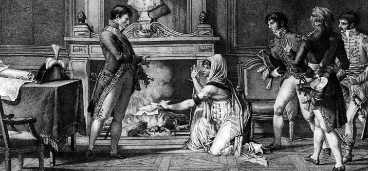 Napoleone con Madame Hatzfeld