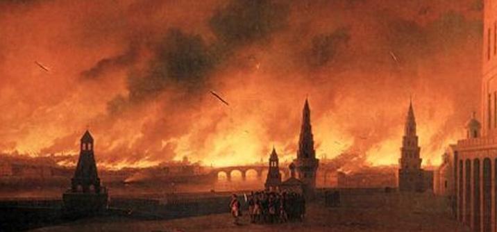 L'incendio di Mosca, A Mosca nessuna pace