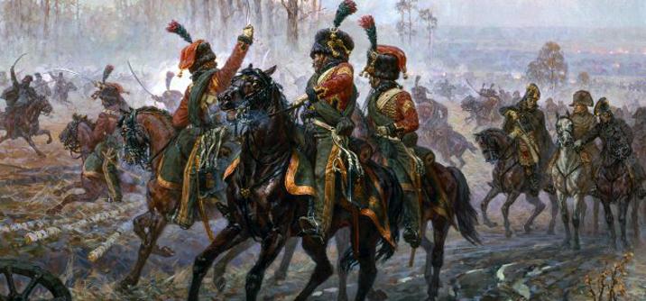 Napoleone sotto attacco caosacchi, La ritirata ha inizio