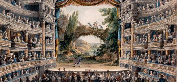 Comédie Francais XVIII secolo,Teatro e propaganda nella Francia napoleonica.
