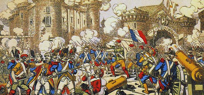 La presa della Bastiglia, 14 luglio 1789
