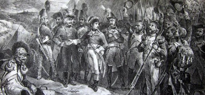 Napoleone arriva all'armata d'italia, gli aiutanti di campo