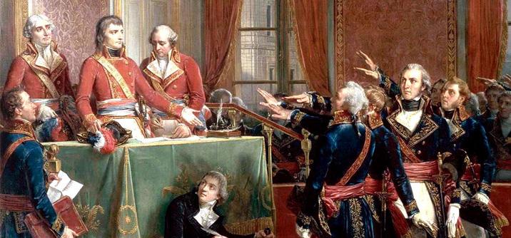 Insediamento del consiglio di stato 25 dicembre 1799 dopo il 18 brumaio