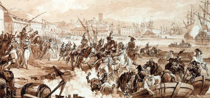 Imbarco dell'Armata d'Egitto a Tolone nel 1798