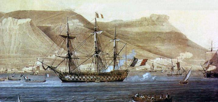 l'ammiraglia della flotta l' oriente