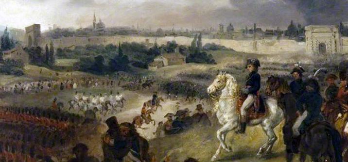 L'entrata di Napoleone a Milano di Joseph Louis Hippolyte Bellangé