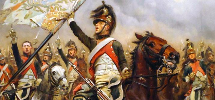 Dragoni francesi alla Battaglia di Jena