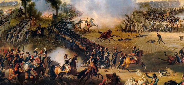 Napoleone alla battaglia di Marengo