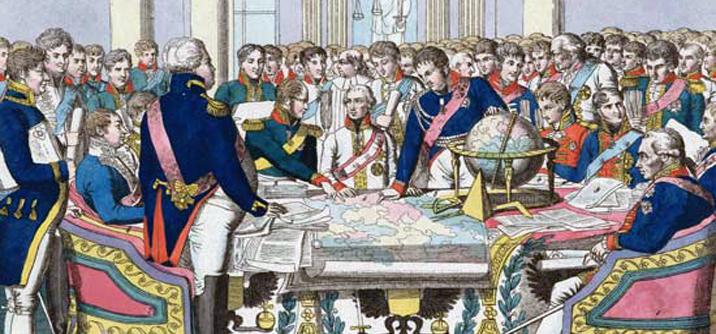 Il principe Metternich al Congresso di Vienna