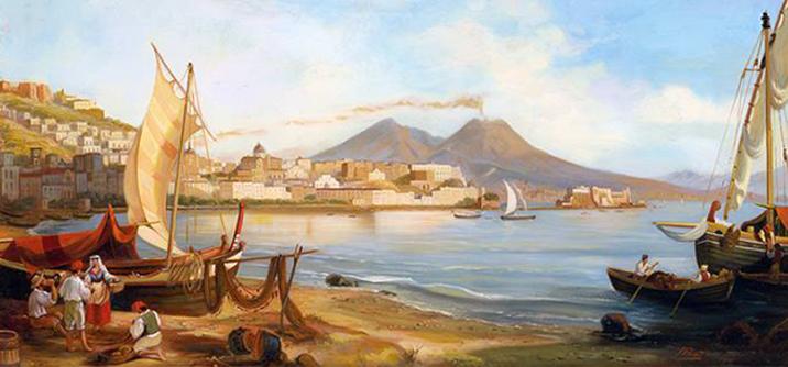 Il Golfo di Napoli, fine XVIII secolo.
